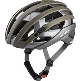 Alpina Campiglio Cykelhjelm, sepia-titanium
